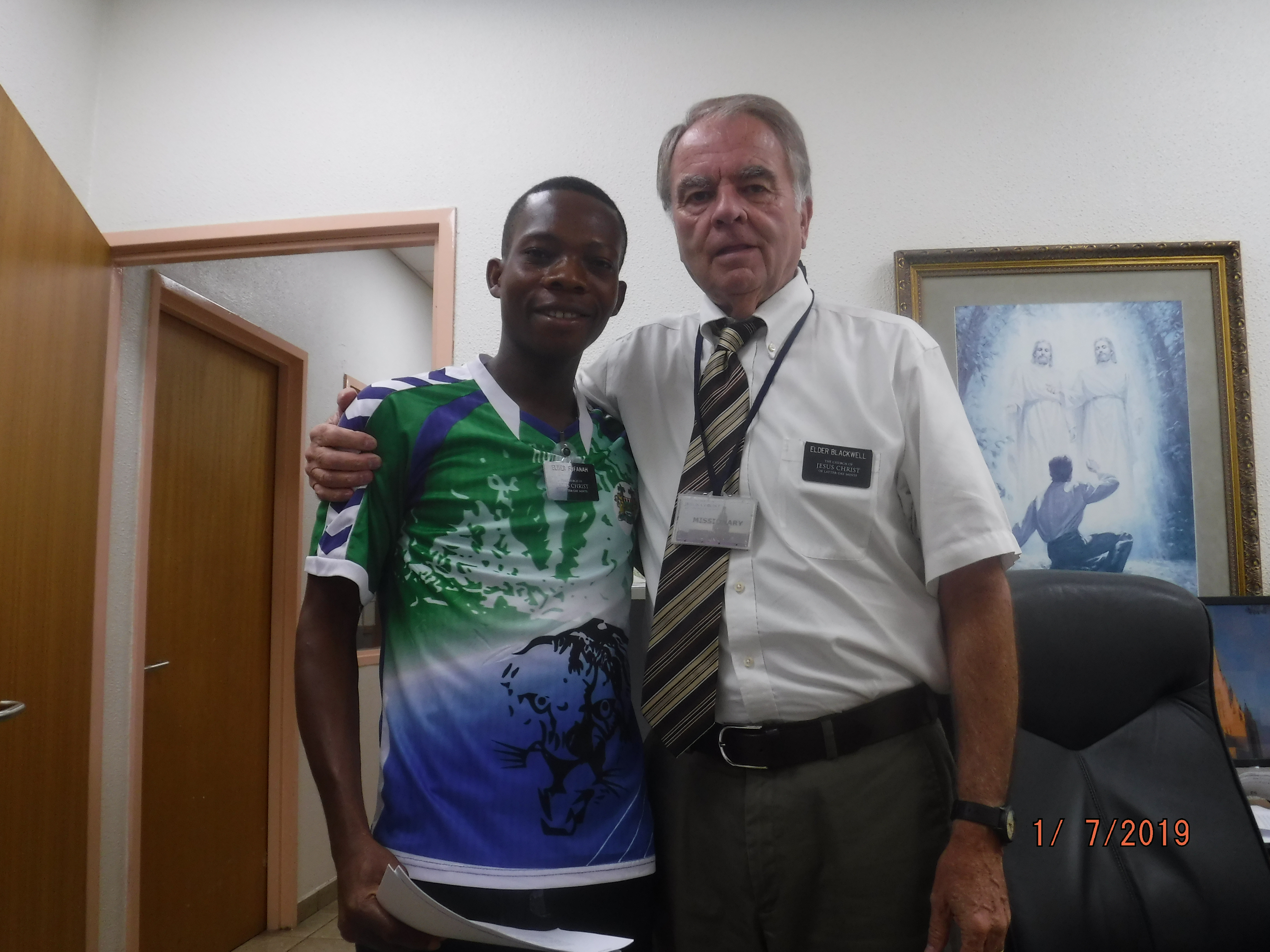 After his career as a mental health therapist in Utah, Elder David Blackwell used his professional experience to serve as the Area Mental Health Advisor in the Europe East Area and the Africa West Area.