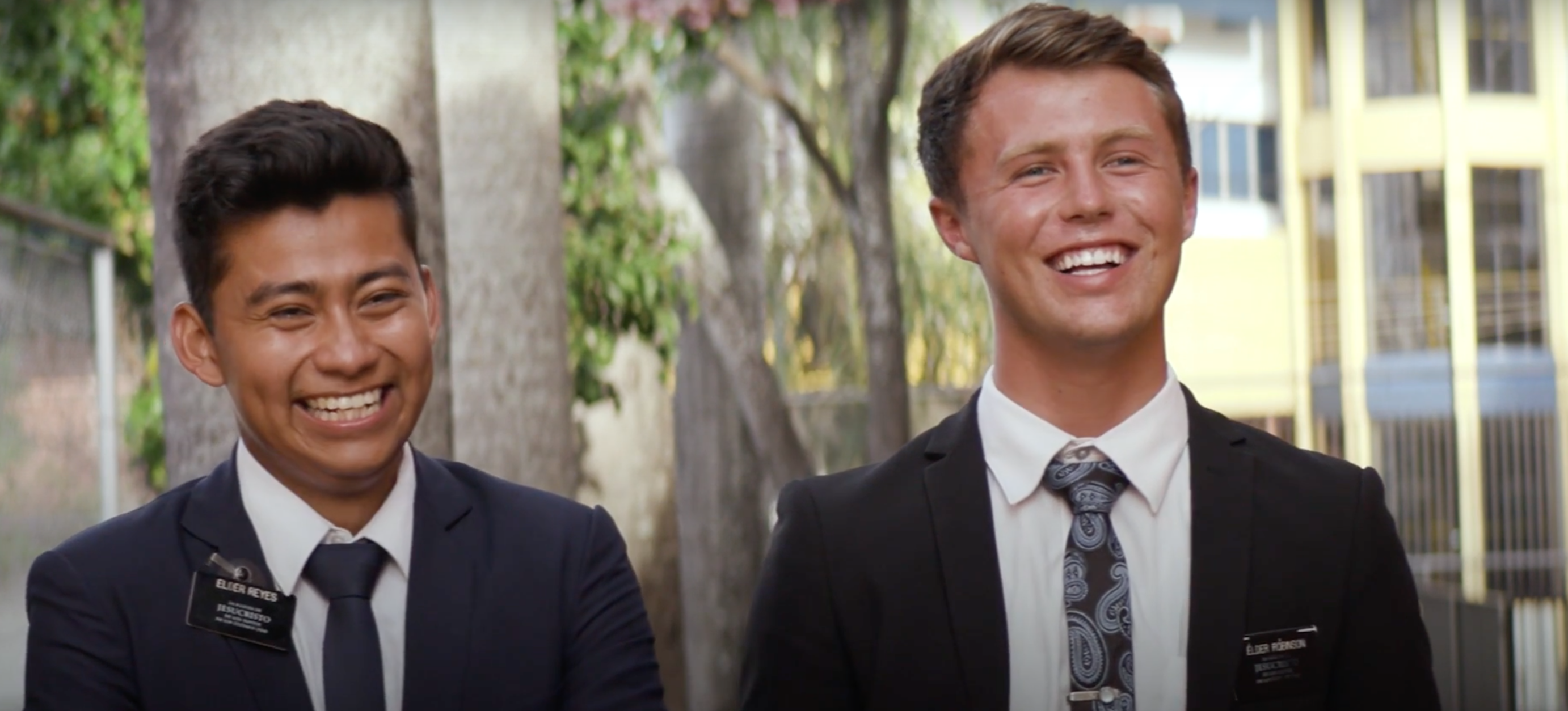 Elder Reyes and Elder Robinson speak about their experience meeting President Russell M. Nelson and hearing him speak in Paraguay.