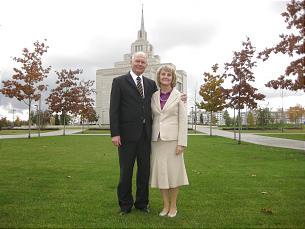 B. John and Carol Galbraith, Kyiv, Ukraine