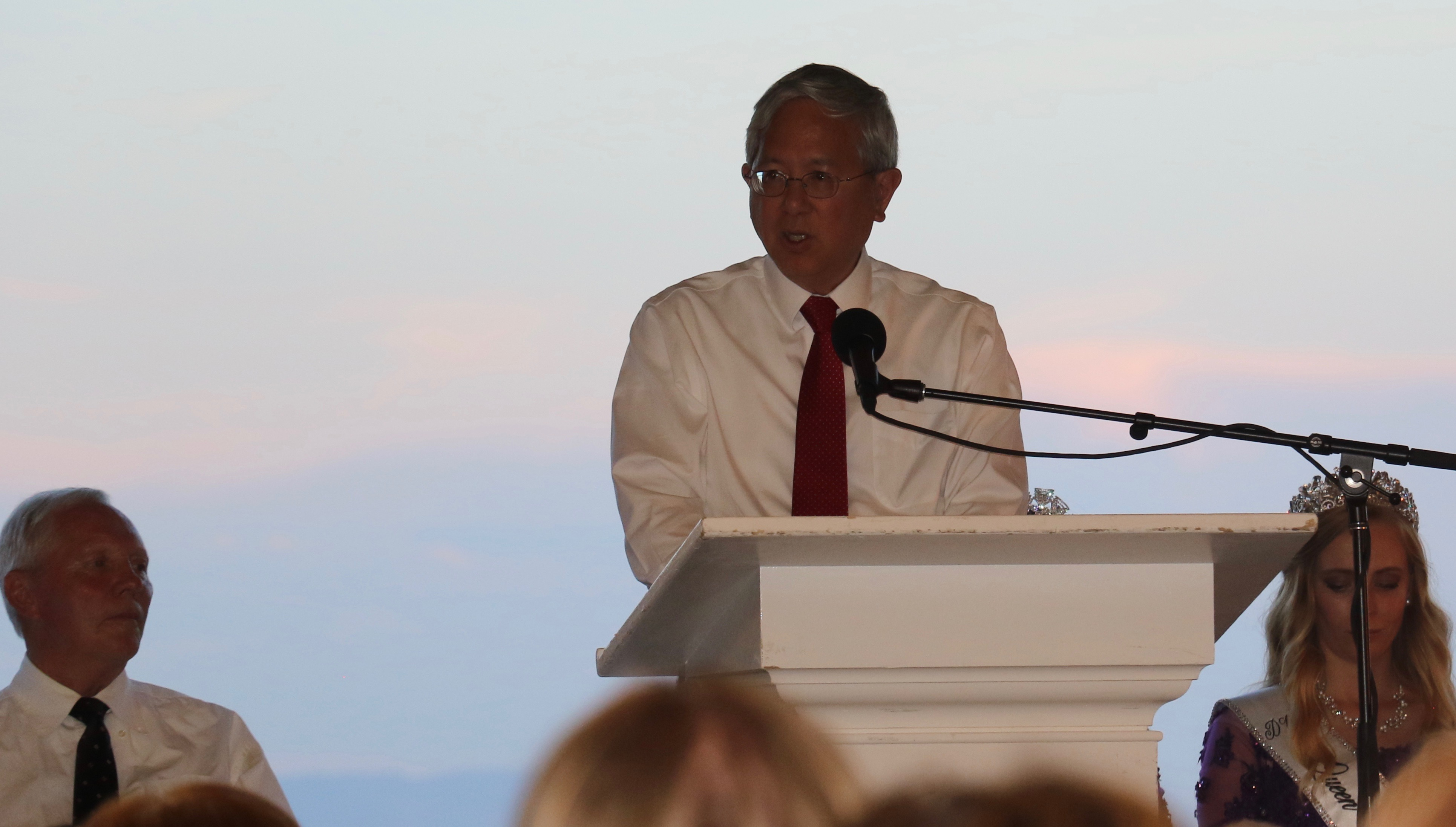 With the sun setting, Elder Gerrit W. Gong shares a devotional message about the pioneer legacy on July 16, 2018.