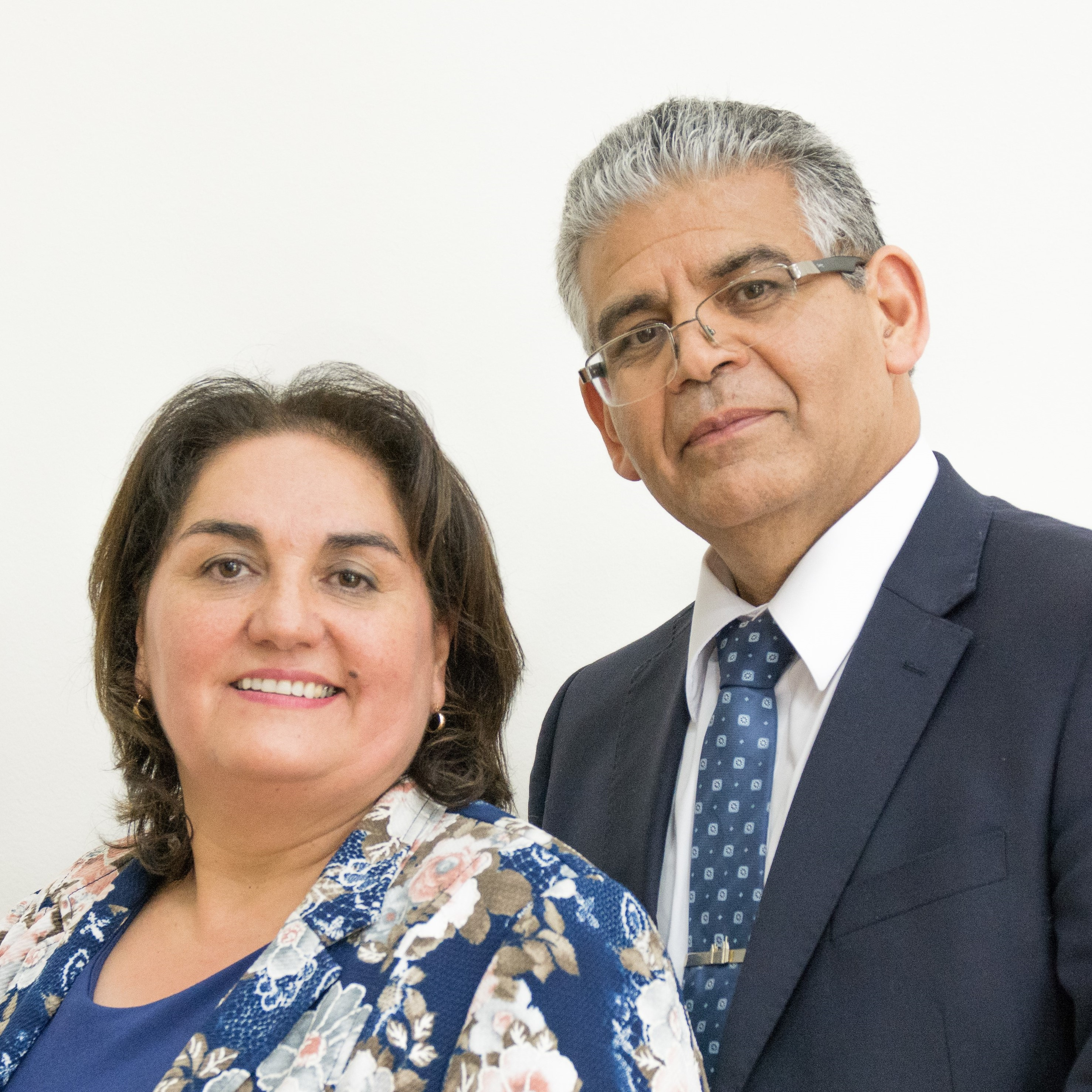 Jeanette Vergara and Carlos Vergara