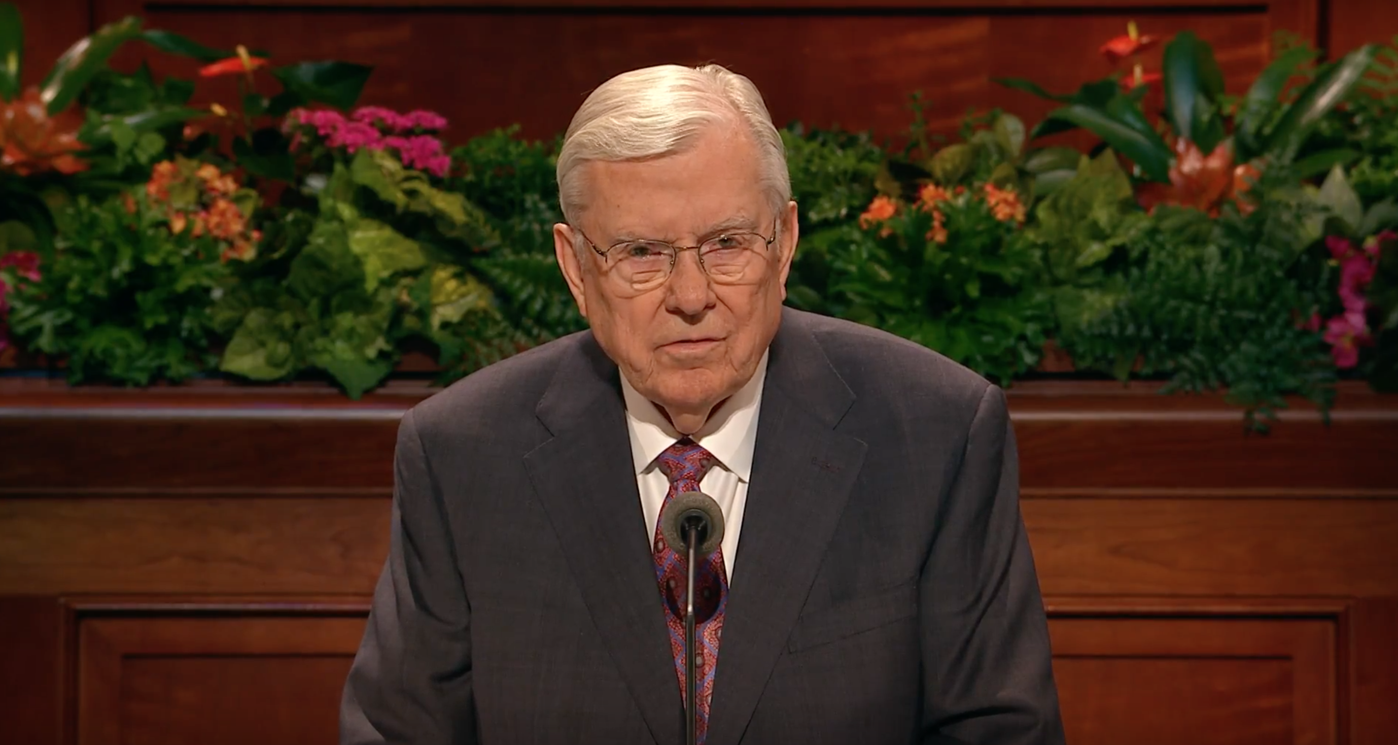 President M. Russell Ballard, Acting President of the Quorum of the Twelve Apostles, shares his October 2018 general conference address.