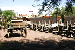 The Las Vegas Mormon Fort is now a state historic park with remnants and restoration on the structure's original site.