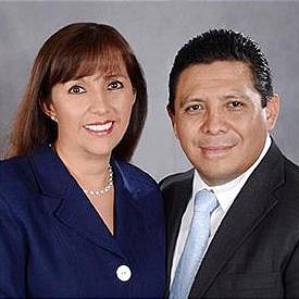 Emma and Mauricio Munive
