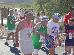 LaGrand Nielsen picked up running when he was a senior citizen.