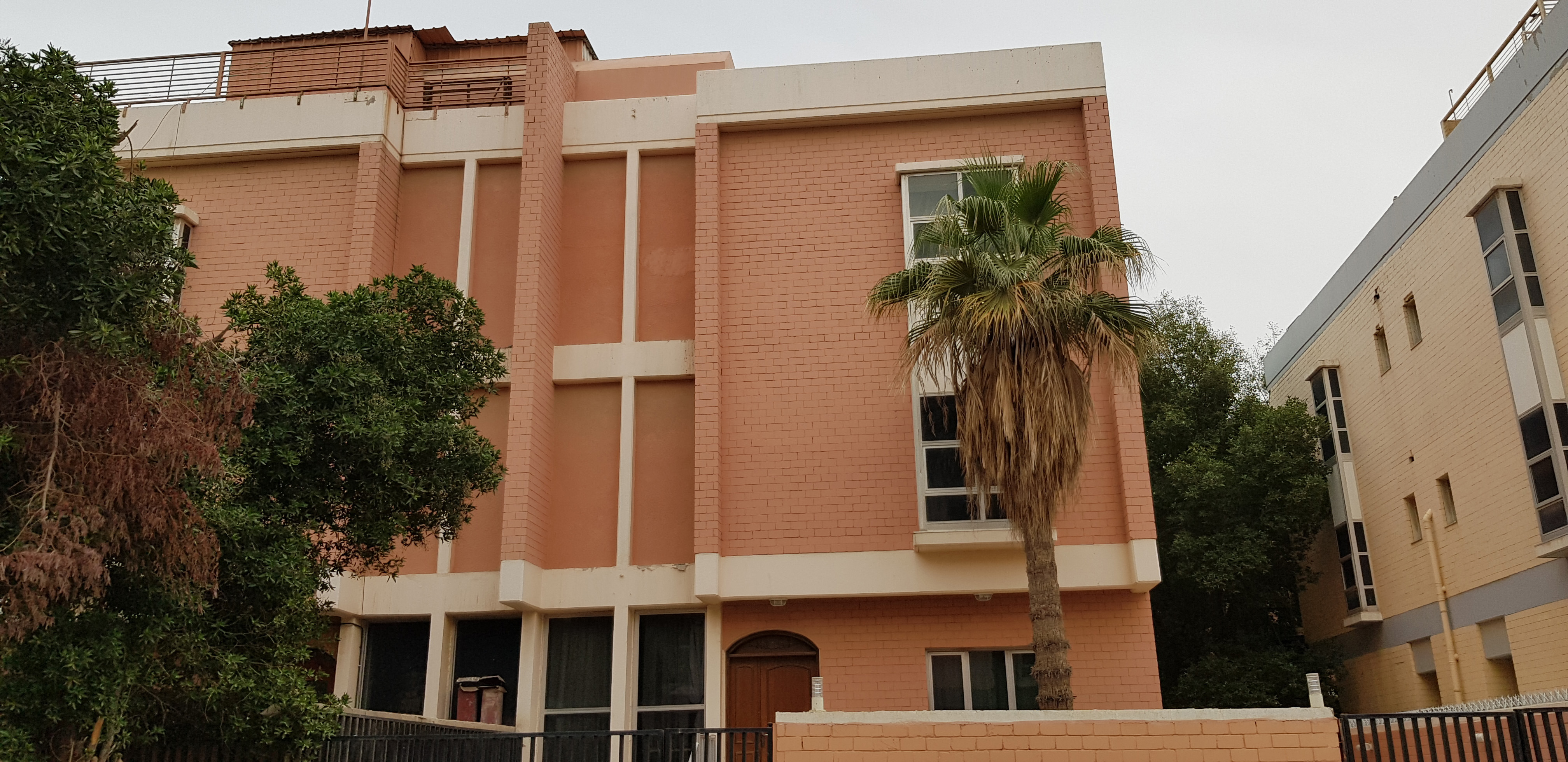 A Latter-day Saint congregation meets in this building in Kuwait.