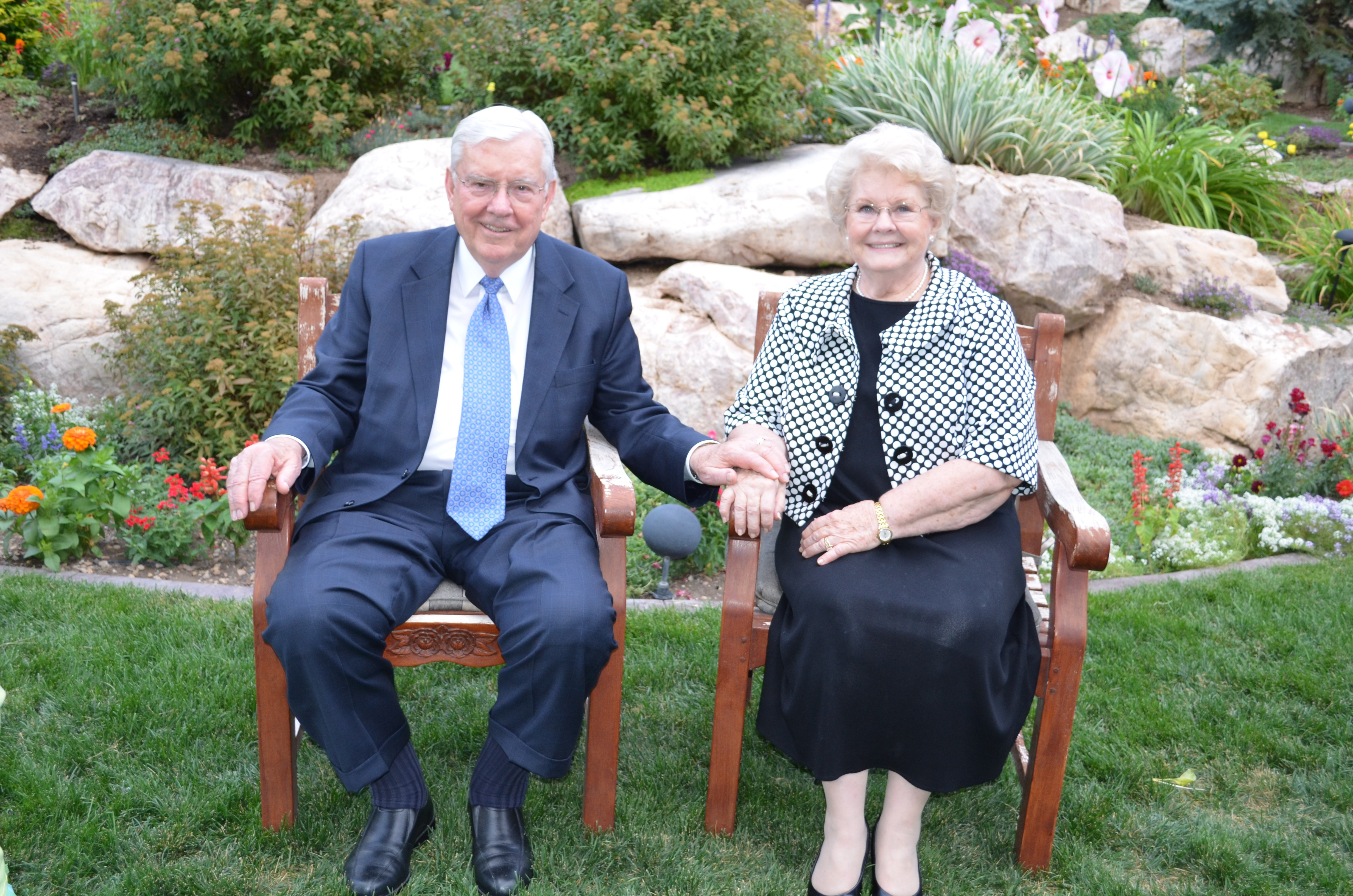 President M. Russell Ballard and Sister Barbara Bowen Ballard