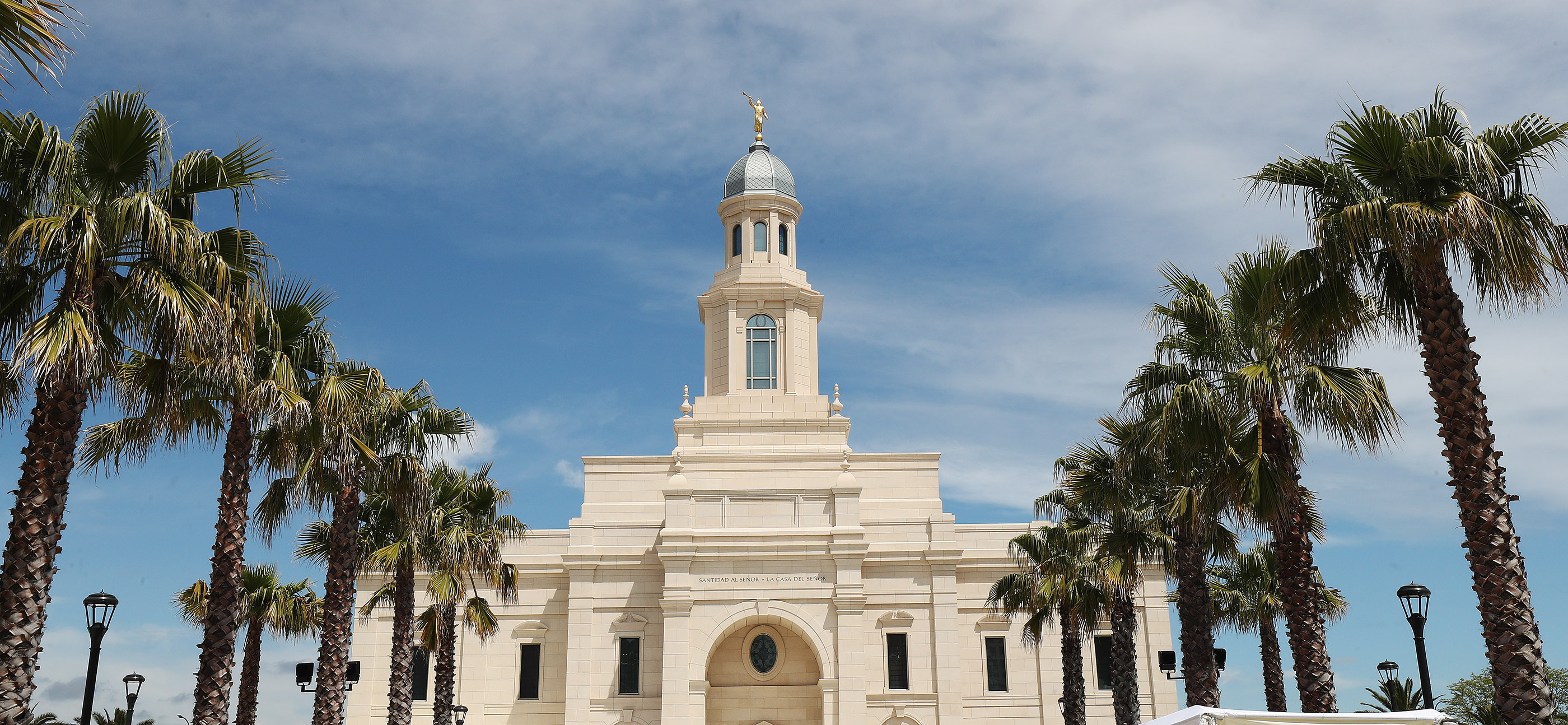Preparations are completed for the dedication of the LDS Concepcion Chili Temple in Concepcion, Chili on Saturday, Oct. 27, 2018.