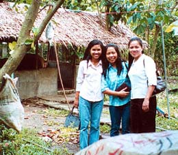Women involved in entrepreneurial endeavord Philippines.