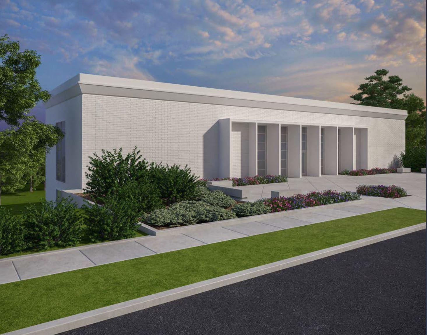 Hamilton Visitor's Centre rendering.