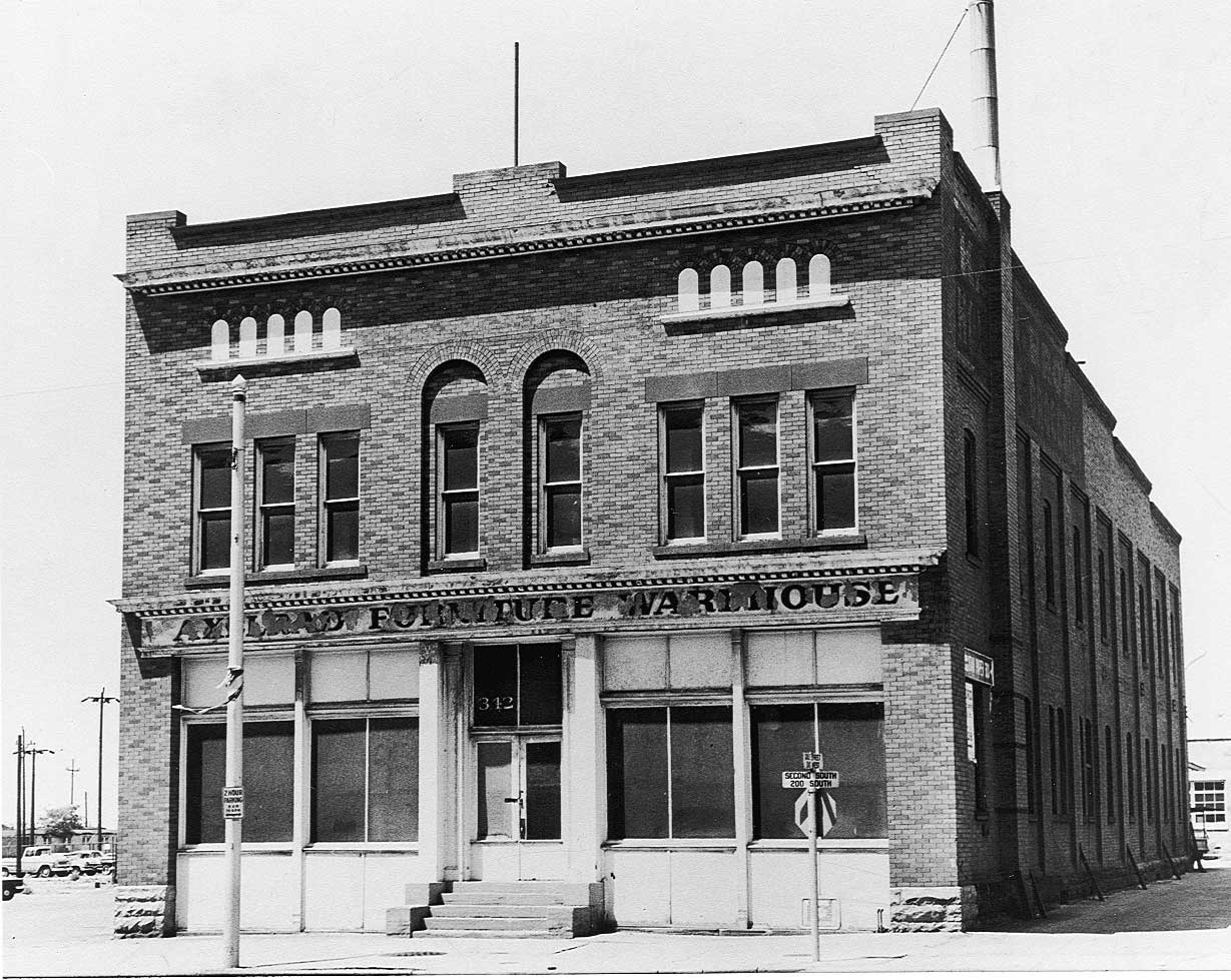 The first Deseret Industries in downtown Salt Lake City.