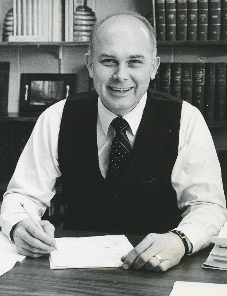 Dr. Dallin H. Oaks, Justice of the Utah Supreme Court.