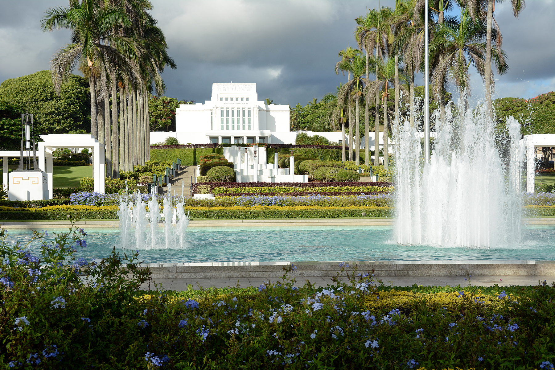 The Laie Hawaii Temple.