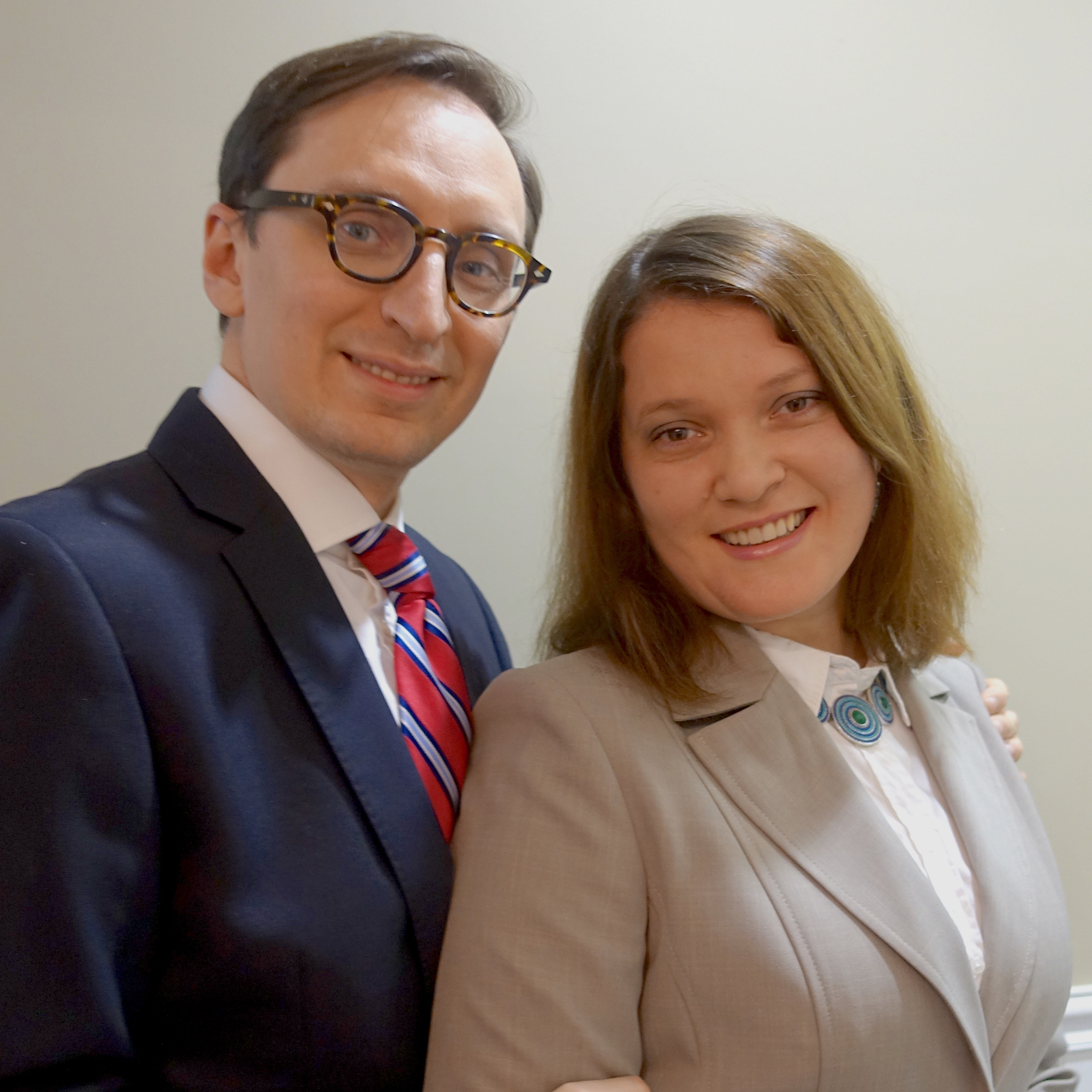 Nikolay and Yuliya Ustyuzhaninov
