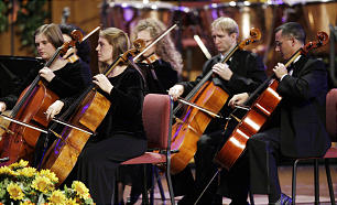 """The Orchestra at Temple Square perform a concert titled """"A Night in Vienna"""" on Friday, Oct. 26, in the Tabernacle on Temple Square."""
