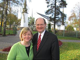 Paul K. and Bonnie Oscarson, Stockholm, Sweden