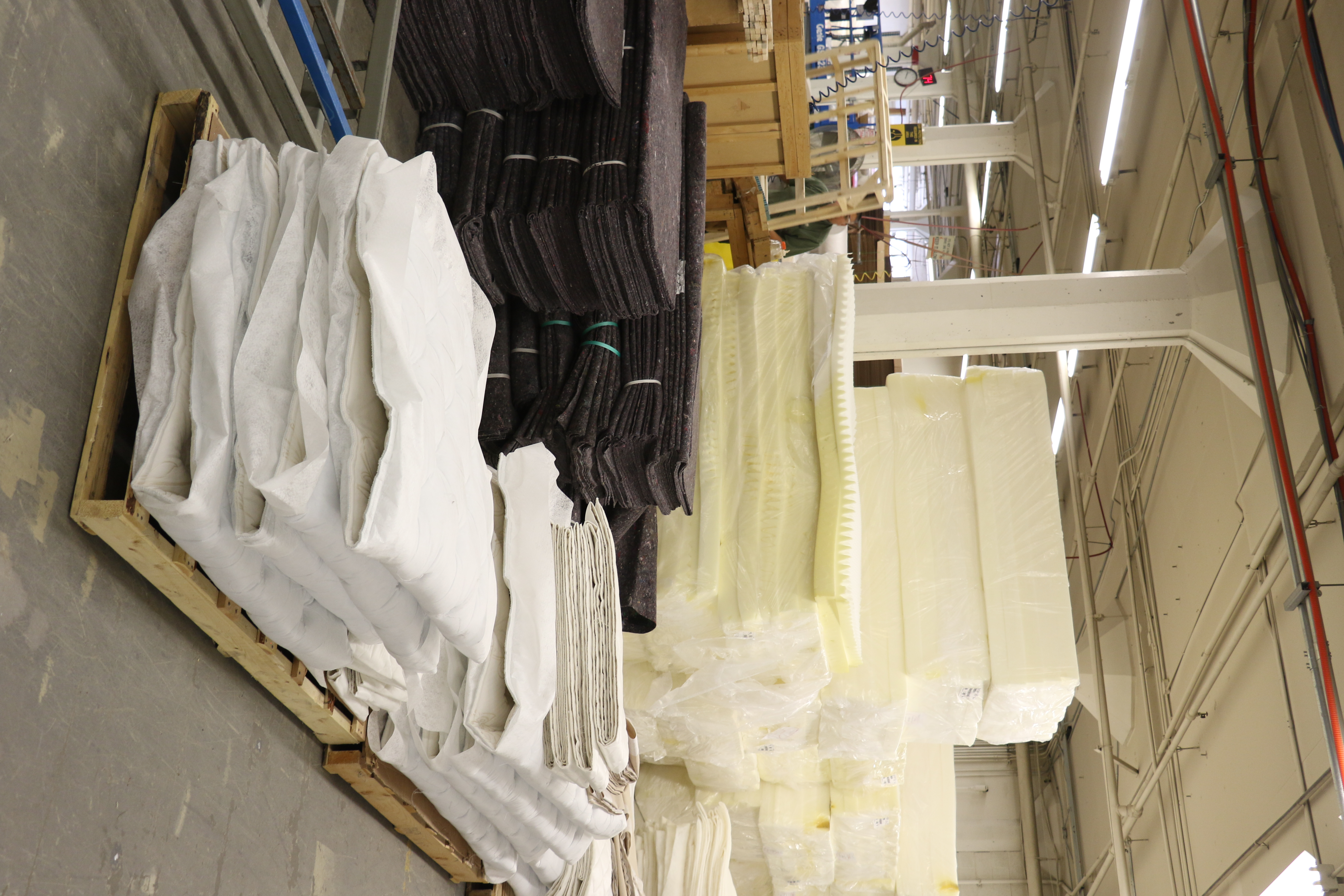 The Deseret Manufacturing facility in Salt Lake City makes mattresses, furniture and other commodities to be sold at the Deseret Industries.