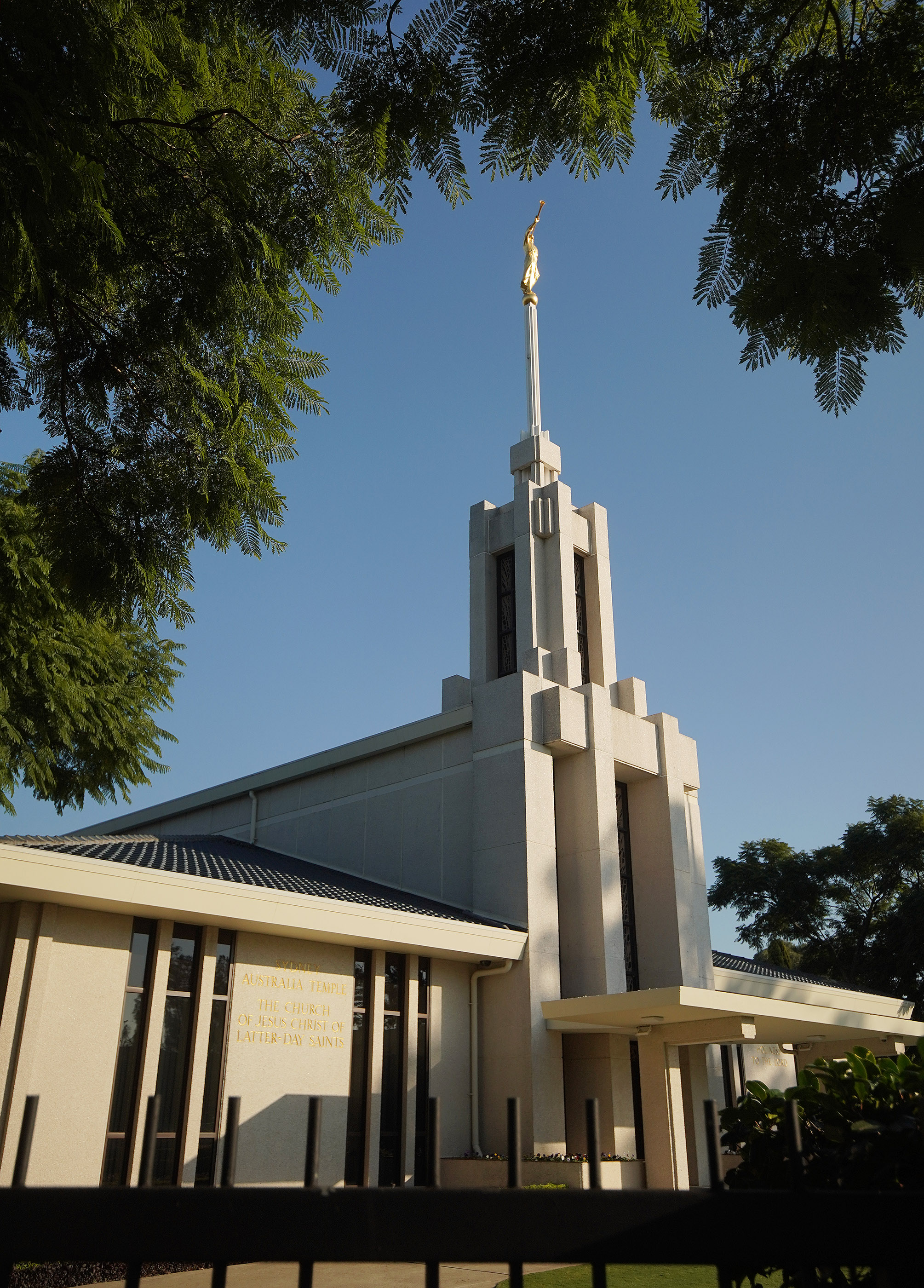 The Sydney Australia Temple on May 18, 2019, in Sydney, Australia.