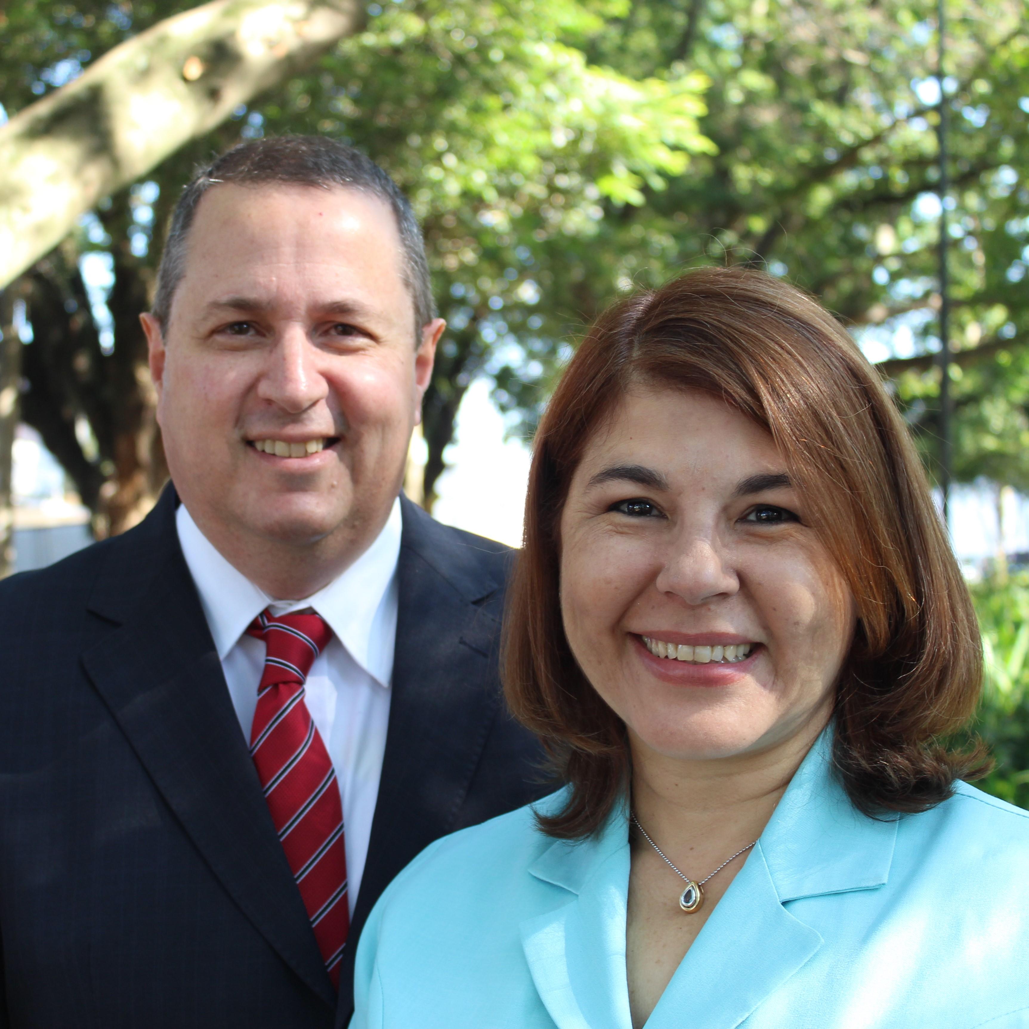 Emilton and Aparecida Miranda