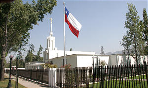 The Santiago Chile Temple was rededicated last year after being closed for renovation and enlarging. Chile's only temple was first opened in 1983.
