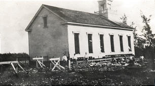 The I Hemolele chapel was removed in order to begin construction of the Laie Hawaii Temple.