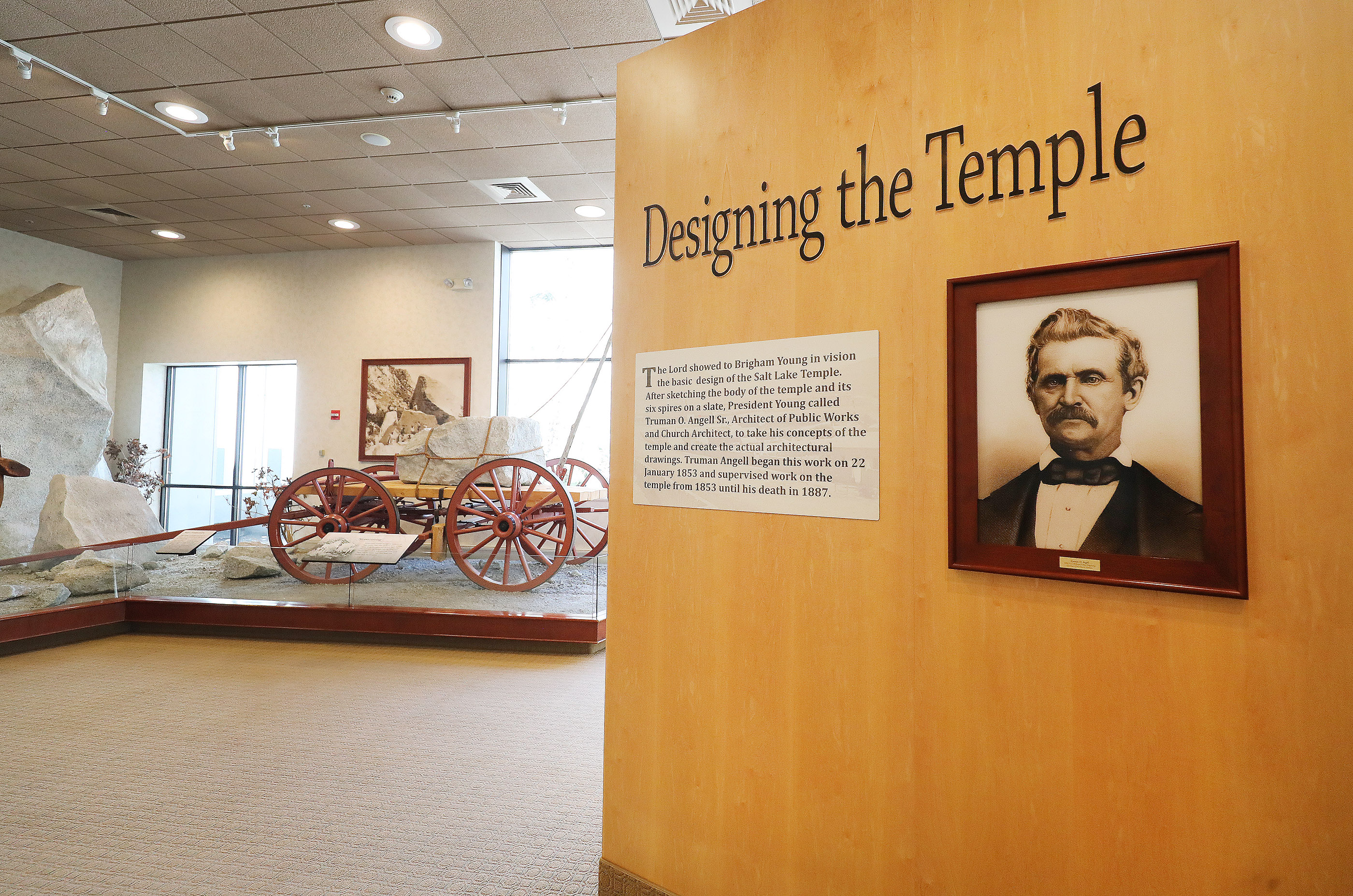 The South Visitors' Center on Temple Square in Salt Lake City on Friday, April 19, 2019. Leadership of The Church of Jesus Christ of Latter-day Saints announced renovation plans for the Salt Lake Temple and changes to the temple grounds and Temple Square.