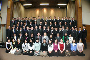These are some of the missionaries who served recently in the Japan Sapporo Mission.