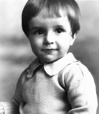 M. Russell Ballard as a toddler.