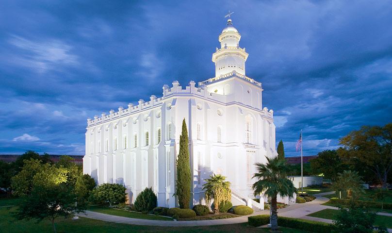 The St. George Utah Temple.