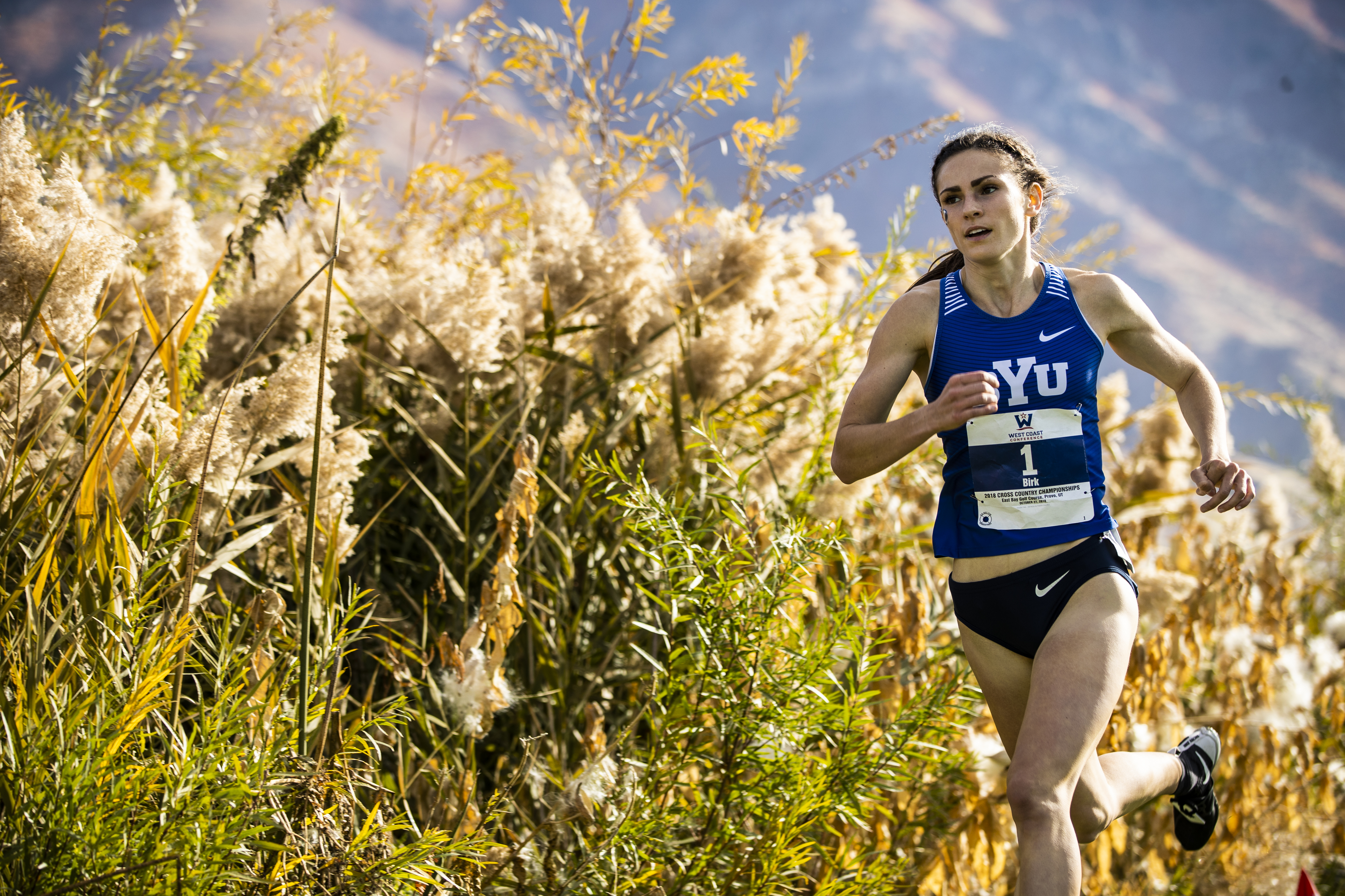BYU athlete Erica Birk-Jarvis has learned to find balance as a mother, a wife, a full-time college student and an elite college distance runner.