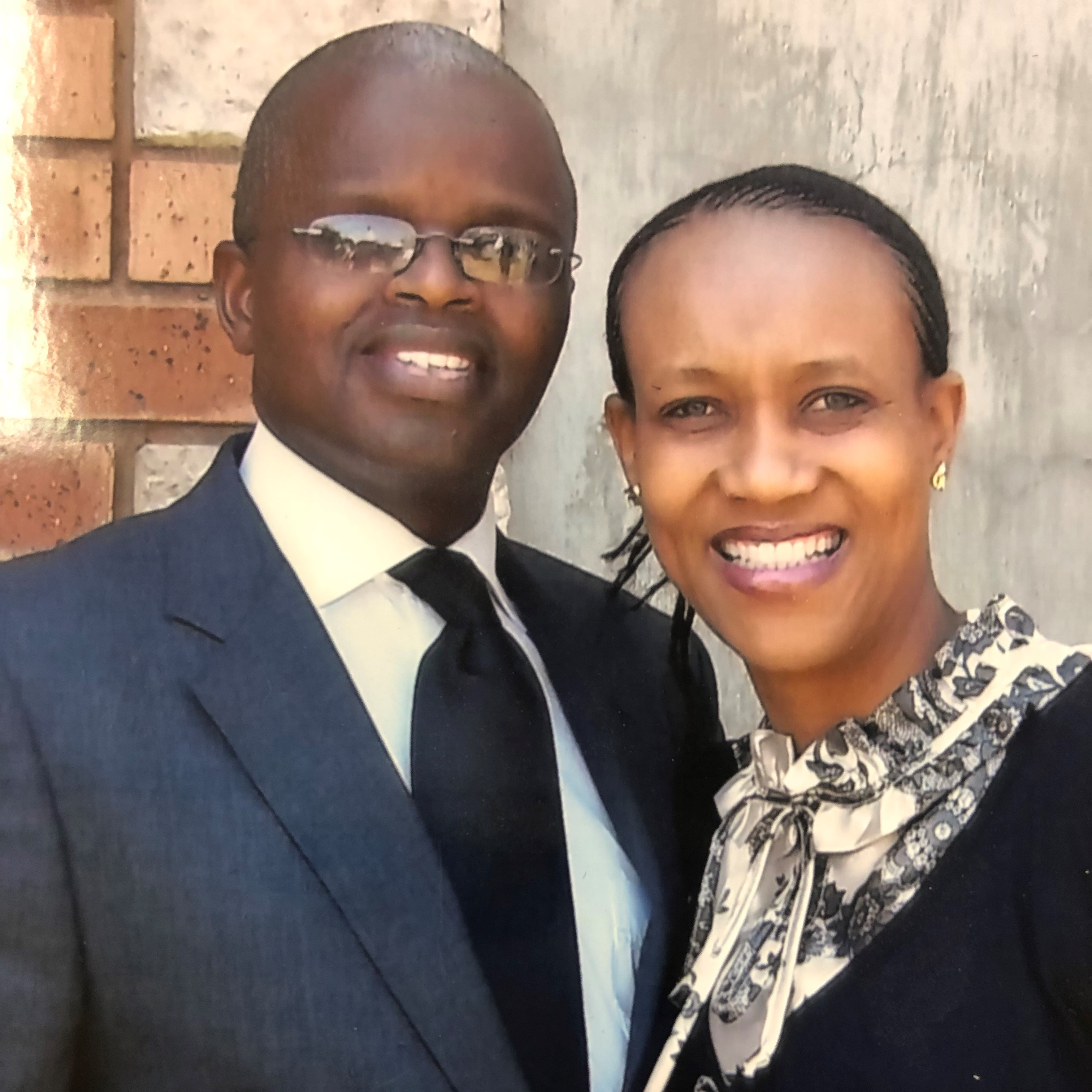 Khumbulani and Futhi Mdletshe