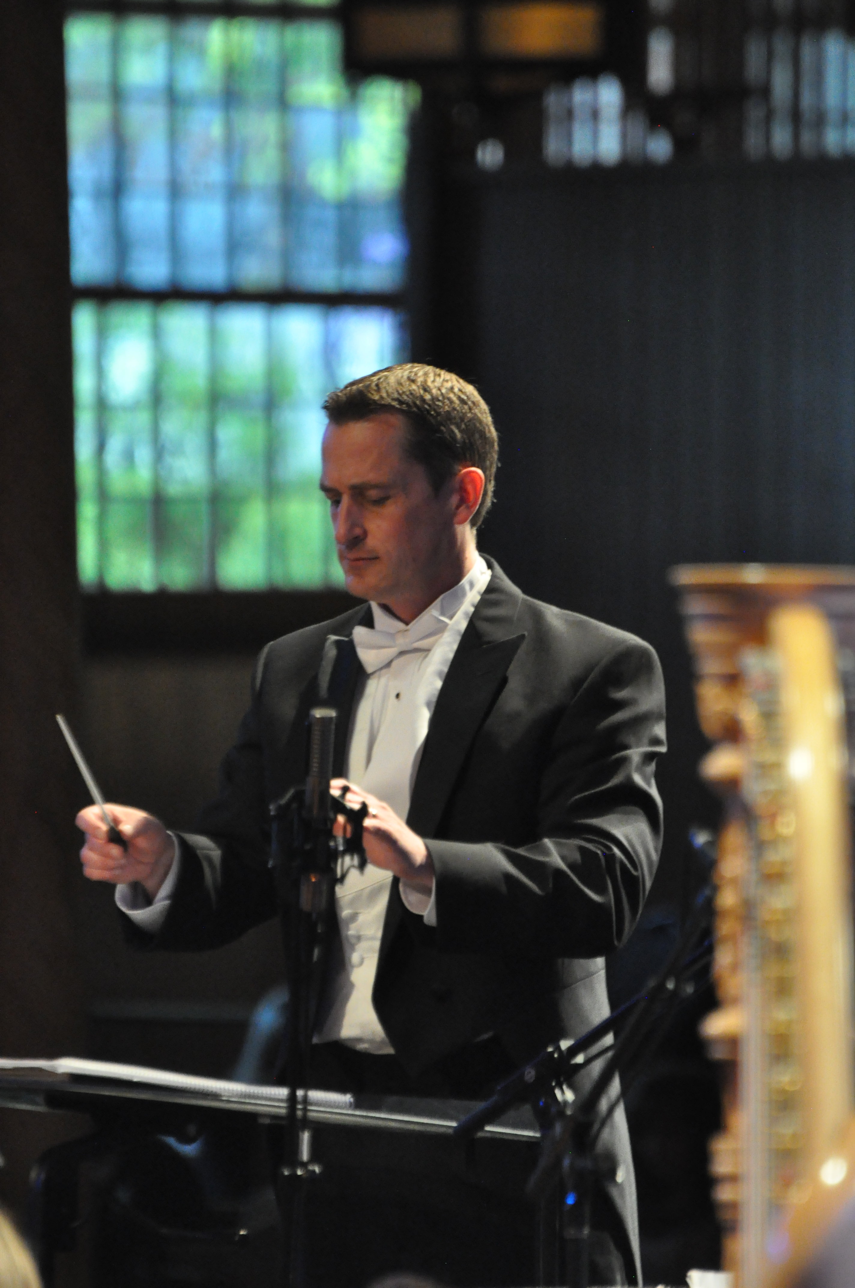 Ryan Murphy, the associate director of The Tabernacle Choir at Temple Square and conductor of the Temple Square Chorale, conducted the April 29 and 30 concerts.