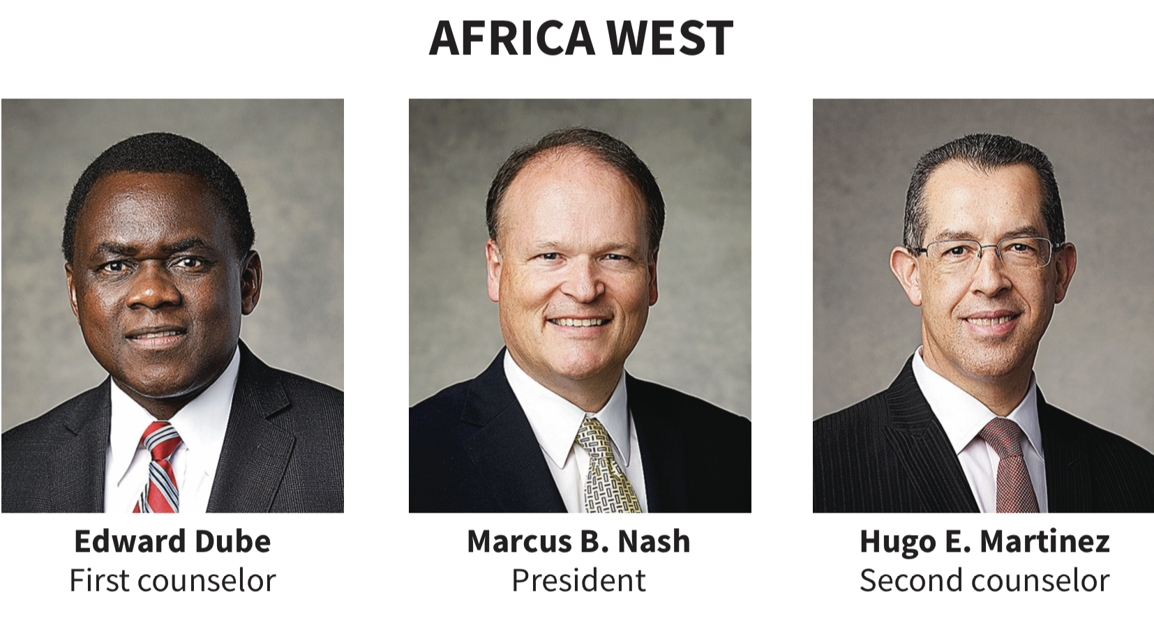 Africa West area presidency