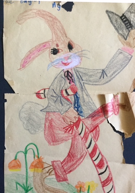 Val Chadwick Bagley's mother saved these pictures that he drew when he was seven years old.