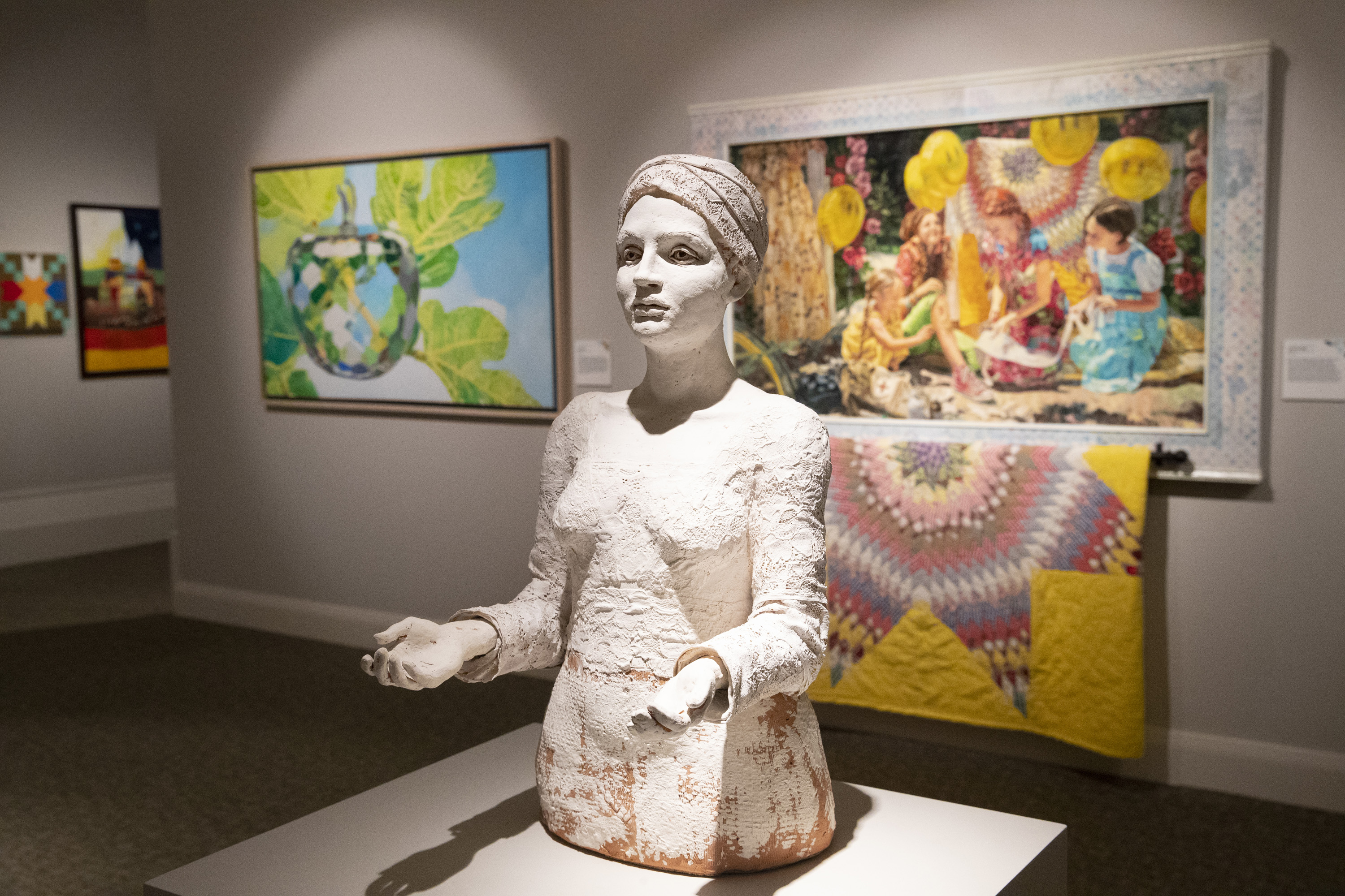 The diverse artwork found in the 11th International Art Competition was crafted by Latter-day Saints from more than two dozens countries.