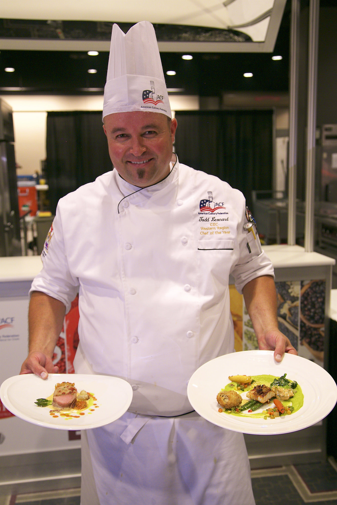 Latter-day Saint Todd Leonard was recently named the 2018 National Chef of the Year at the American Culinary Federation national convention in New Orleans.