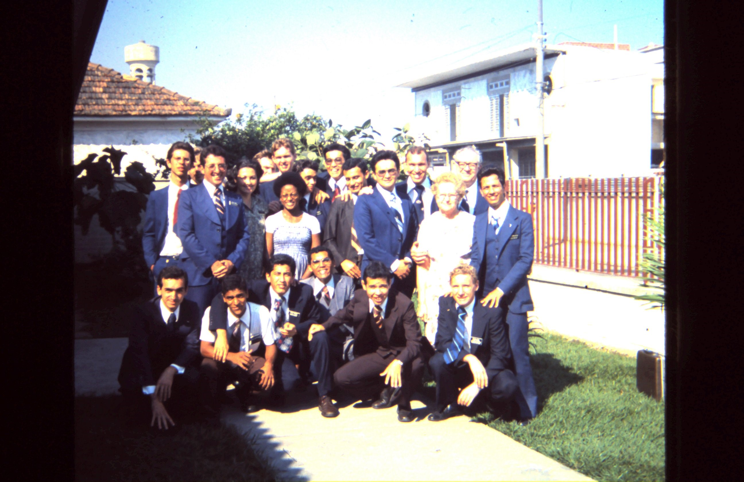 Elder Ulisses Soares, second row far left, was serving a mission in Rio de Janeiro when the 1978 revelation was announced, forever changing the Church in Brazil.