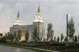 Kansas City Temple dedication.