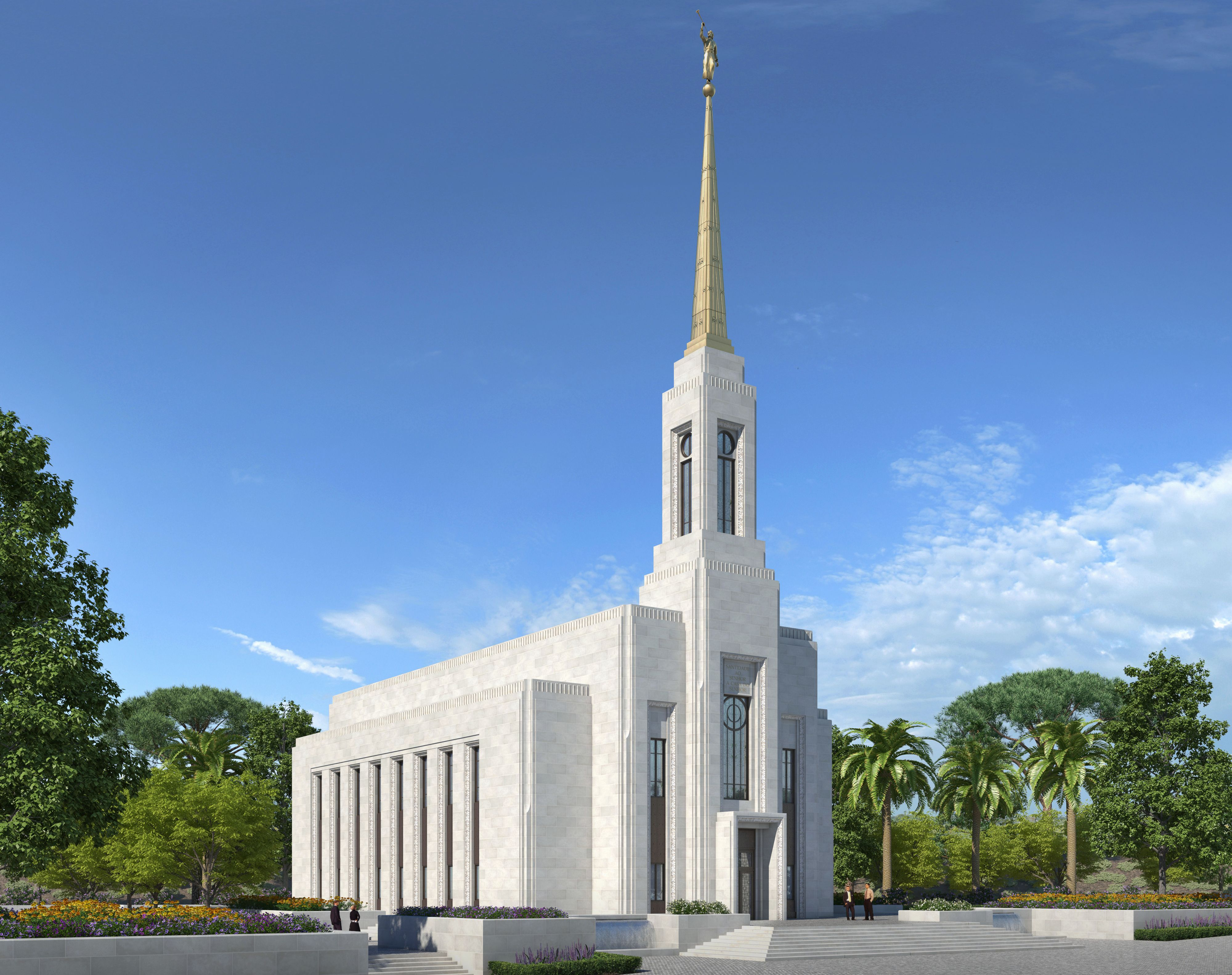 Rendering of the Lisbon Portugal Temple.