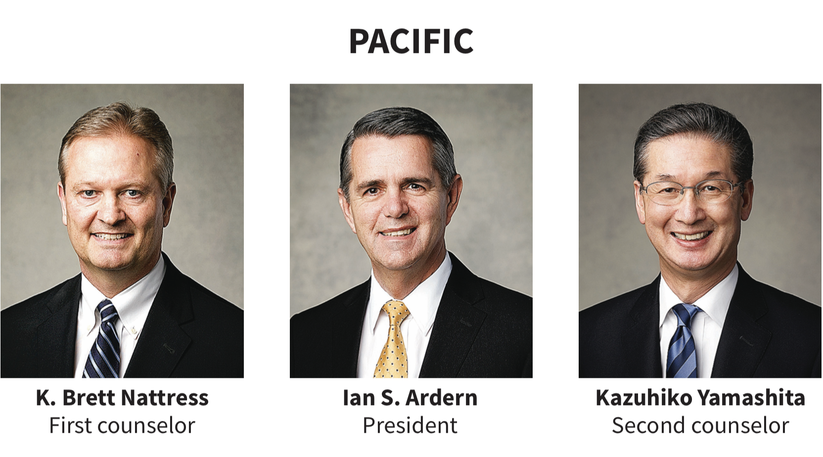 Pacific area presidency