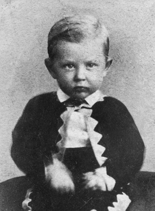 Joseph Fielding Smith as a young boy.