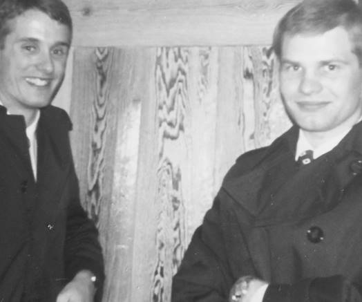 Young Elder Dale G. Renlund on his mission in Sweden from 1972-1974.