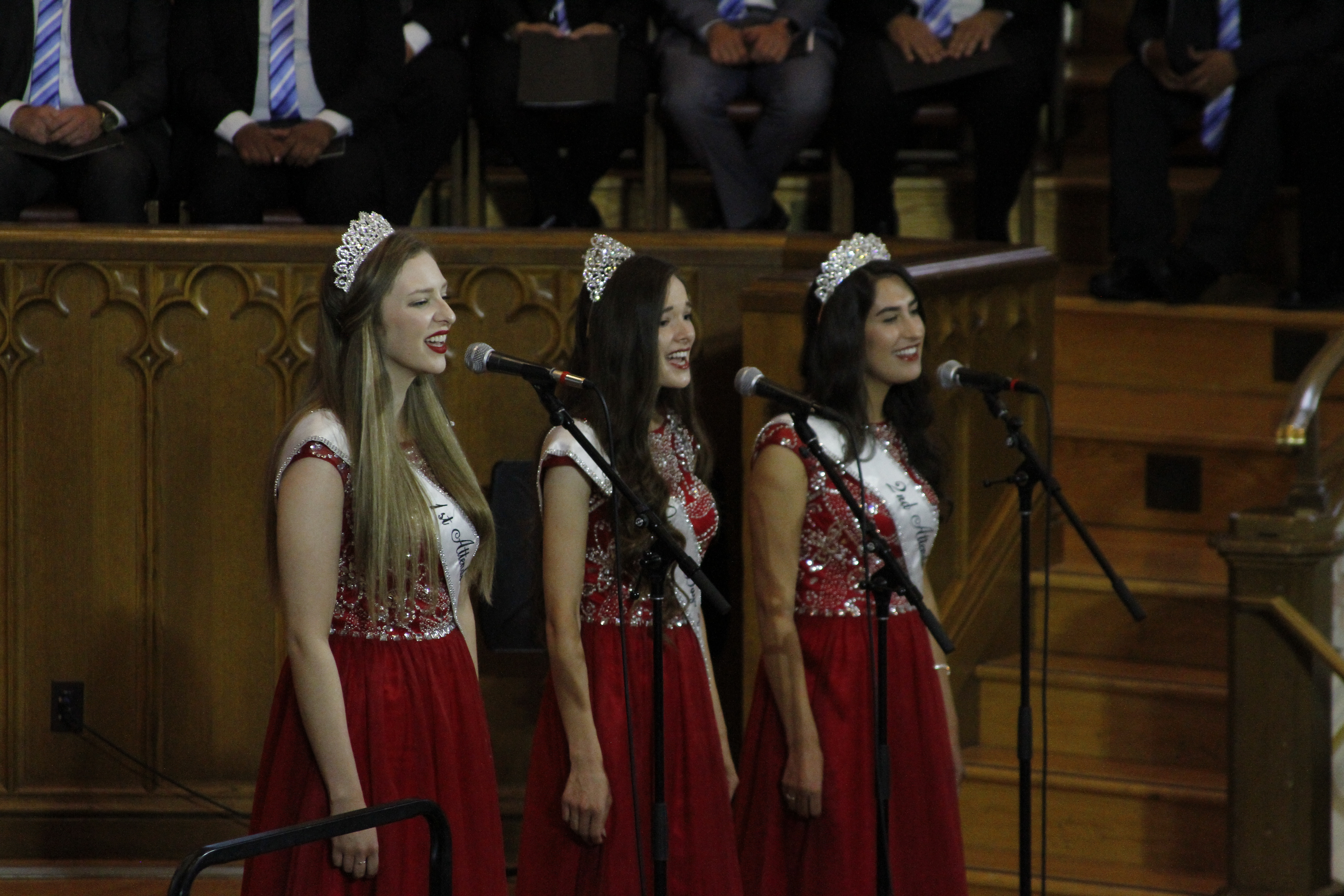"The Days if '47 Royalty sing ""To Those Who Came Before Me"" during the Days of '47 Sunrise Service in the Assembly Hall on Temple Square July 24, 2019."