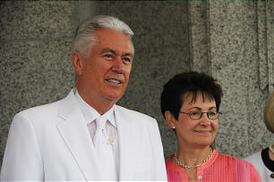 President Dieter F. Uchtdorf and his wife Harriet.
