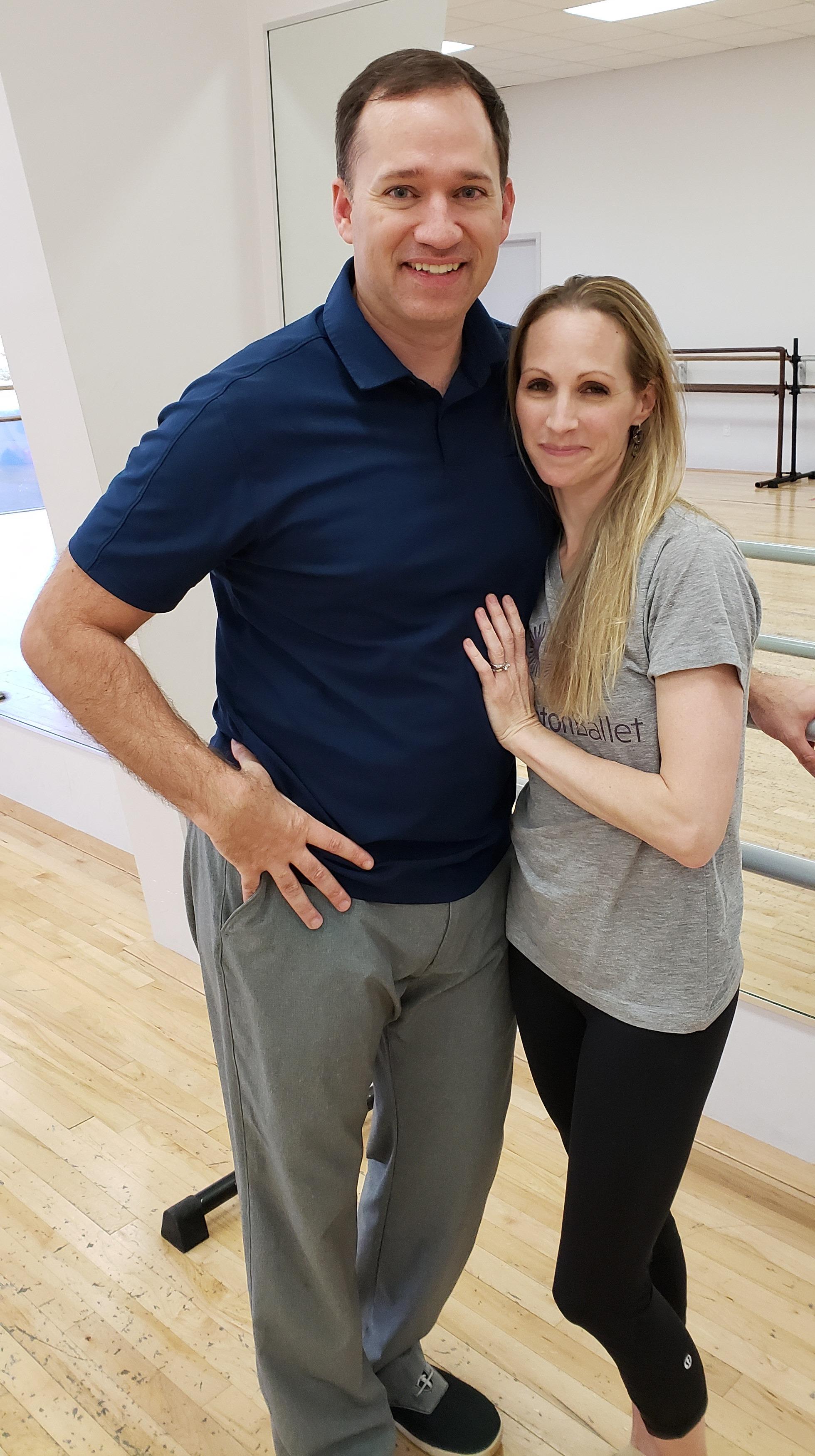 Sara Webb Bardo with husband Ryan Bardo.