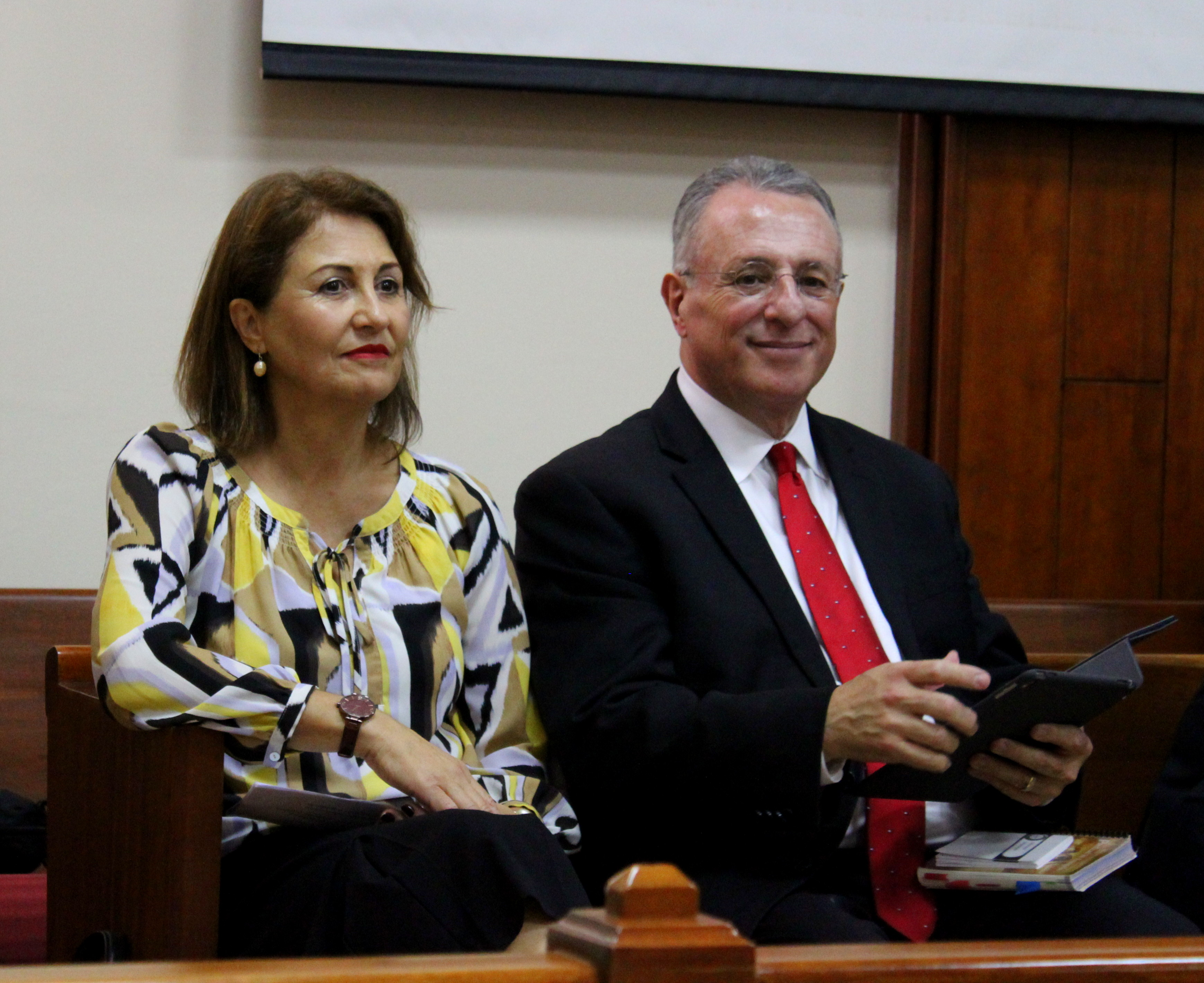 Elder Ulisses Soares of the Quorum of the Twelve Apostles addresses missionaries in Costa Rica on Nov. 8, 2018.