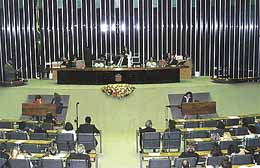 Moroni Torgan, the only deputy who is a member of the Church, is honored at Brazil Chamber of Deputies, similar to the U.S. House of Representatives, in special session praising Relief Society.