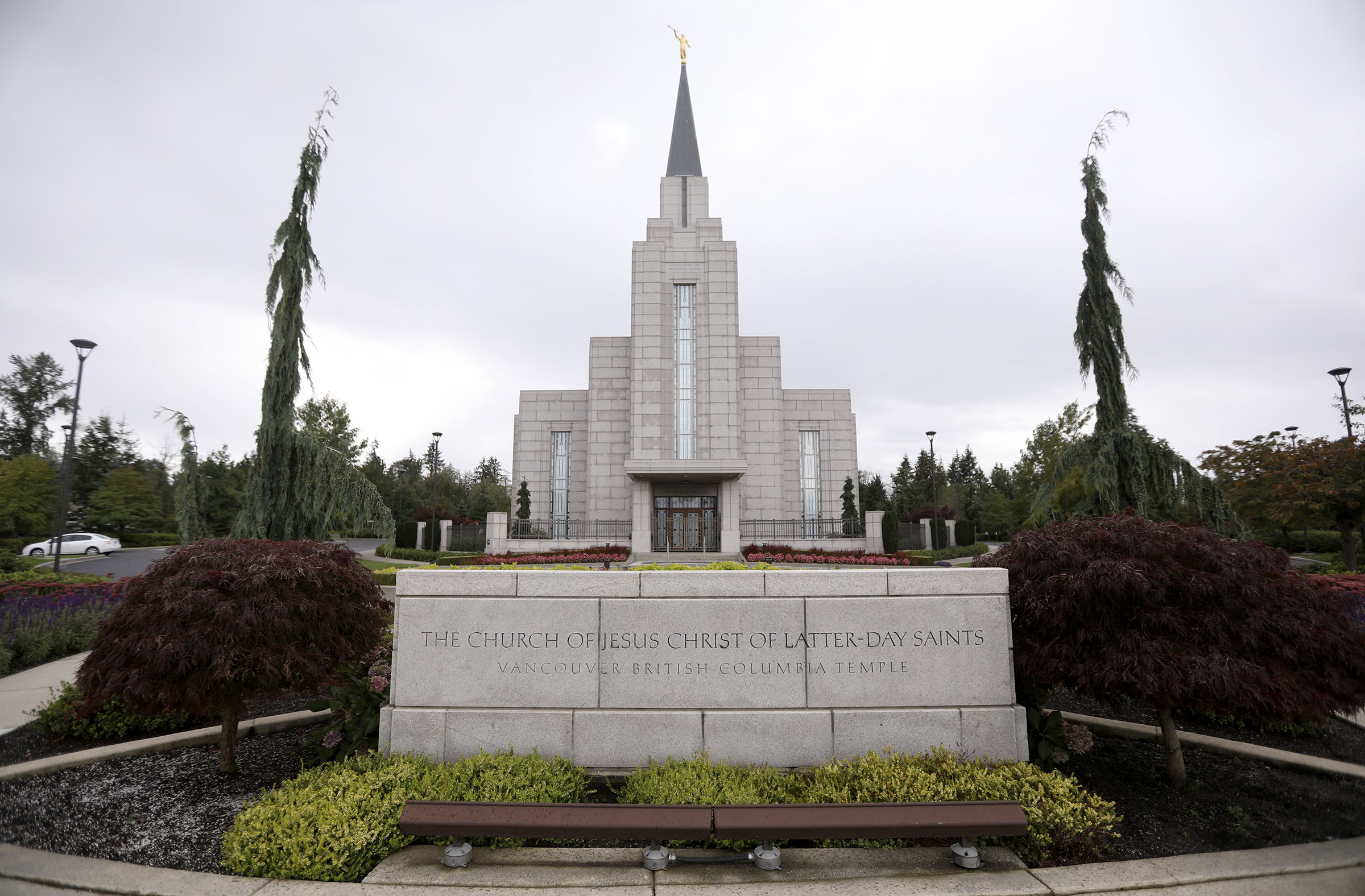 The Vancouver British Columbia Temple in Langley, British Columbia, on Sunday, Sept. 16, 2018.