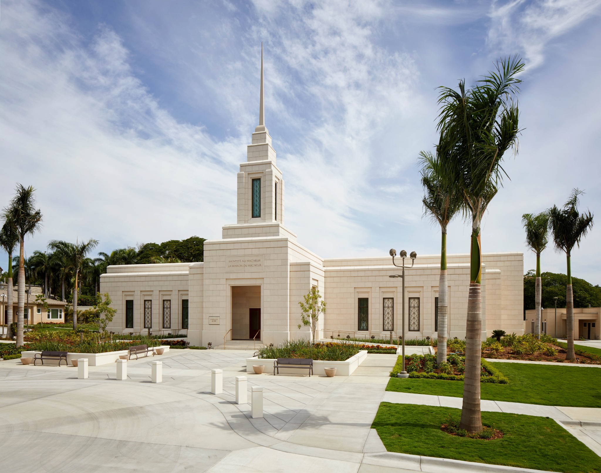 A photo of the exterior of the Port-au-Prince Haiti Temple, which begins a public open house Thursday, Aug. 8, through Saturday, Aug. 17, 2019.