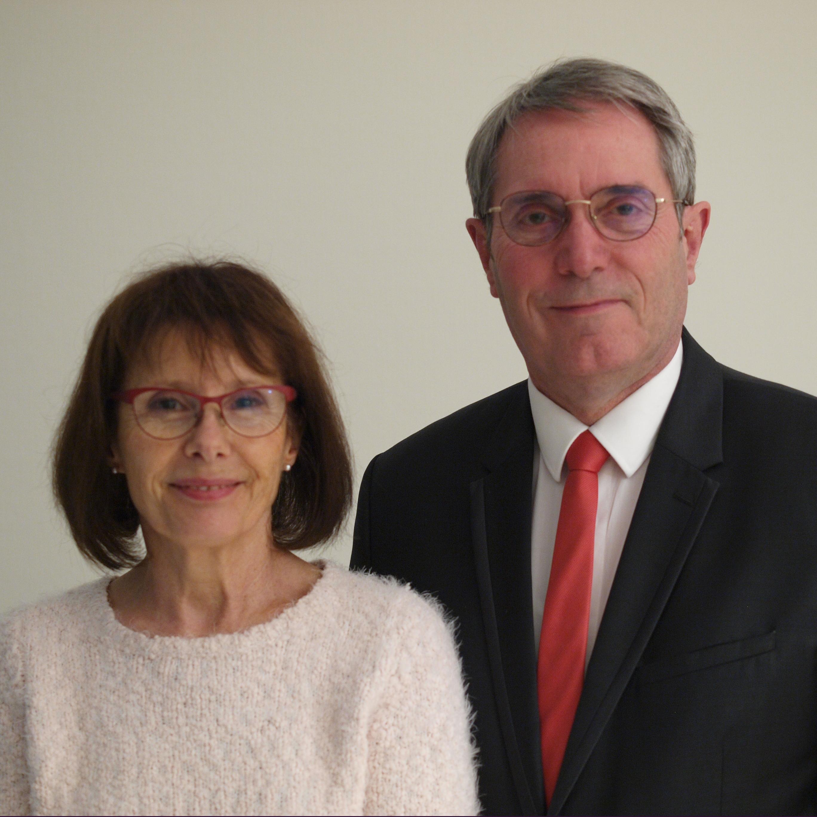 Monique and Jean-Marc Bourroux